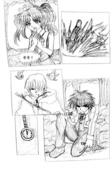 魔法騎士學生會:CG漫畫-兩校比賽(三)07˙